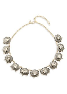 Alexis Bittar 10K Goldplated, Lucite & Crystal Necklace