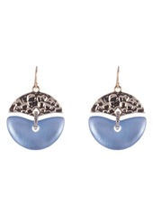 Alexis Bittar Hammered Metal Mobile Earrings