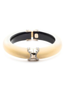 Alexis Bittar Alex Bittar Lucite® Pavé Edge Hinge Bracelet