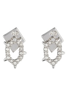 Alexis Bittar Alexia Bittar Essentials Crystal Encrusted Spike Earrings