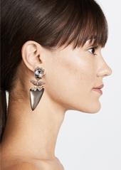 Alexis Bittar Abstract Flower Clip on Earrings