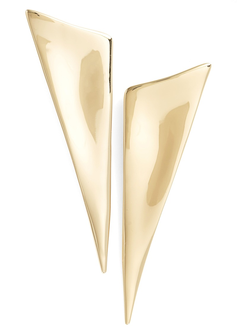 Alexis Bittar Angular Drop Earrings