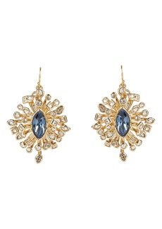 Alexis Bittar Asteria Nova Navette Crystal Burst Drop Earrings