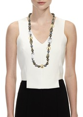 Alexis Bittar Baroque Pearly Beaded Single-Strand Necklace