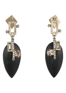 Alexis Bittar Brutalist Butterfly Teardrop Earrings