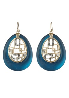 Alexis Bittar Brutalist Drop Earrings