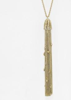 "Alexis Bittar Cascade Tassel Pendant Necklace, 20"""