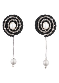 Alexis Bittar Coiled Cord Clip-On Earrings