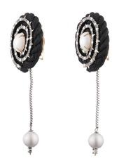 Alexis Bittar Coiled Cord Clip-On Earrings