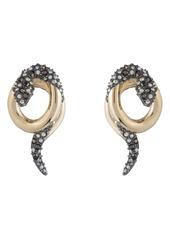 Alexis Bittar Coiled Snake Earrings