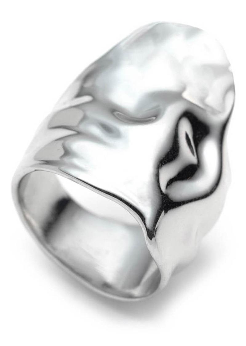 Alexis Bittar Crumpled Asymmetric Statement Ring