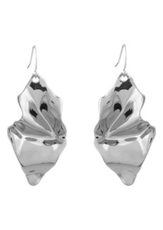 Alexis Bittar Crumpled Drop Earrings