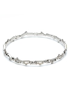 Alexis Bittar Crystal Baguette Bangle