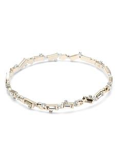 Alexis Bittar Crystal Bangle Bracelet