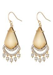 Alexis Bittar Crystal Chandelier Earrings