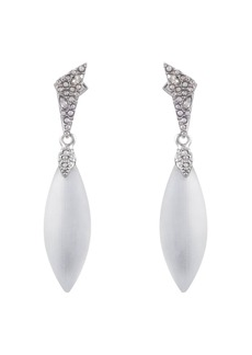 Alexis Bittar Crystal-Encrusted Dangling Earrings