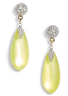 Alexis Bittar Crystal Encrusted Lucite® Drop Earrings