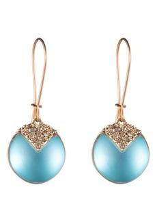 Alexis Bittar Crystal Encrusted Lucite® Drop Earrings