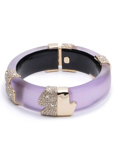 Alexis Bittar Crystal Encrusted Lucite® Hinge Bracelet