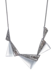 Alexis Bittar Crystal Encrusted Lucite® Necklace