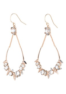 Alexis Bittar Crystal Encrusted Mosaic Drop Earrings