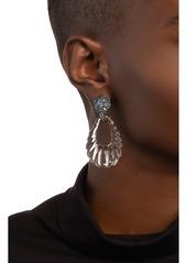 Alexis Bittar Crystal Encrusted Ombré Paisley Earrings