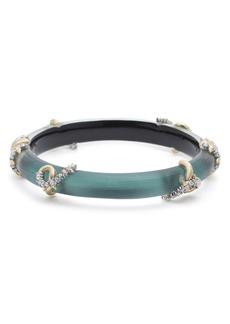 Alexis Bittar Crystal Encrusted Open Knot Bracelet