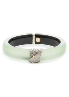 Alexis Bittar Crystal Encrusted Roxbury Bracelet