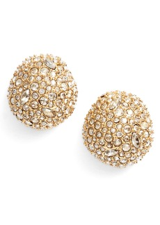 Alexis Bittar Crystal Encrusted Stud Earrings