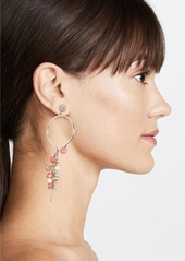 Alexis Bittar Crystal Enhanced Arc Earrings