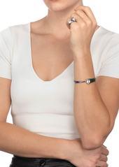 Alexis Bittar Crystal Hinge Bracelet