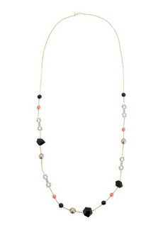 Alexis Bittar Crystal Lace Star Station Necklace
