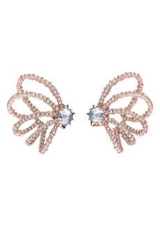 Alexis Bittar Crystal Orbiting Post Earrings