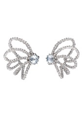 Alexis Bittar Crystal Orbiting Post Earrings