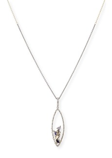Alexis Bittar Crystal Spike Cluster Pendant Necklace
