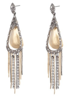 Alexis Bittar Crystal Teardrop Earrings