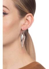 Alexis Bittar Crystal Wave Drop Earrings