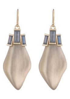 Alexis Bittar Dancing Baguette Drop Earrings