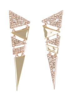 Alexis Bittar Dangling Triangle Drop Earrings