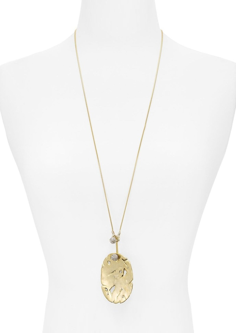 Alexis bittar alexis bittar distressed disk pendant necklace 31 alexis bittar distressed disk pendant necklace 31 100 exclusive aloadofball Images