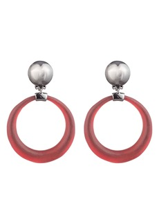 Alexis Bittar Dome Link Clip Earrings