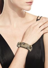 Alexis Bittar Double Snake Hinge Cuff Bracelet