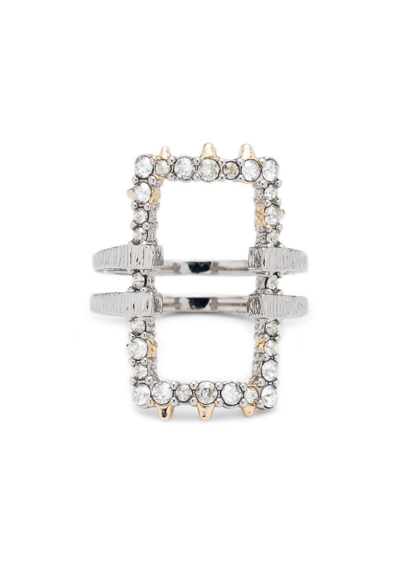 Alexis Bittar Elements Crystal Encrusted Ring