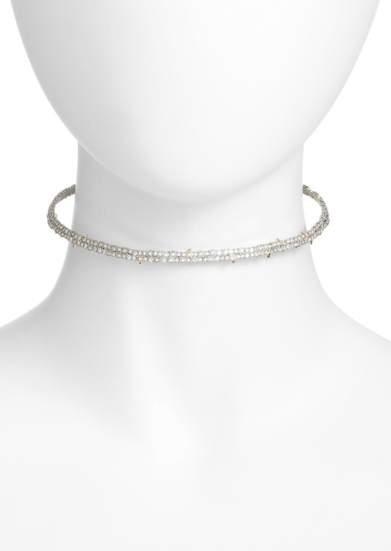 Alexis Bittar Elements Encrusted Spike Choker