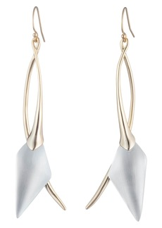 Alexis Bittar Elongated Wire Earrings