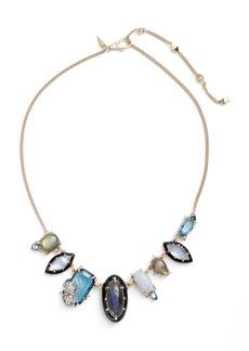 Alexis Bittar Encrusted Crystal Bib Necklace