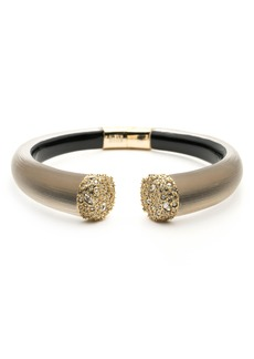 Alexis Bittar Encrusted Pavé Hinge Bracelet