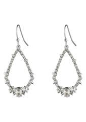 Alexis Bittar Essentials Crystal Encrusted Spike Teardrop Earrings