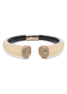 Alexis Bittar Essentials Encrusted Pavé Hinged Bracelet