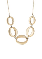 Alexis Bittar Essentials Large Lucite® Link Necklace